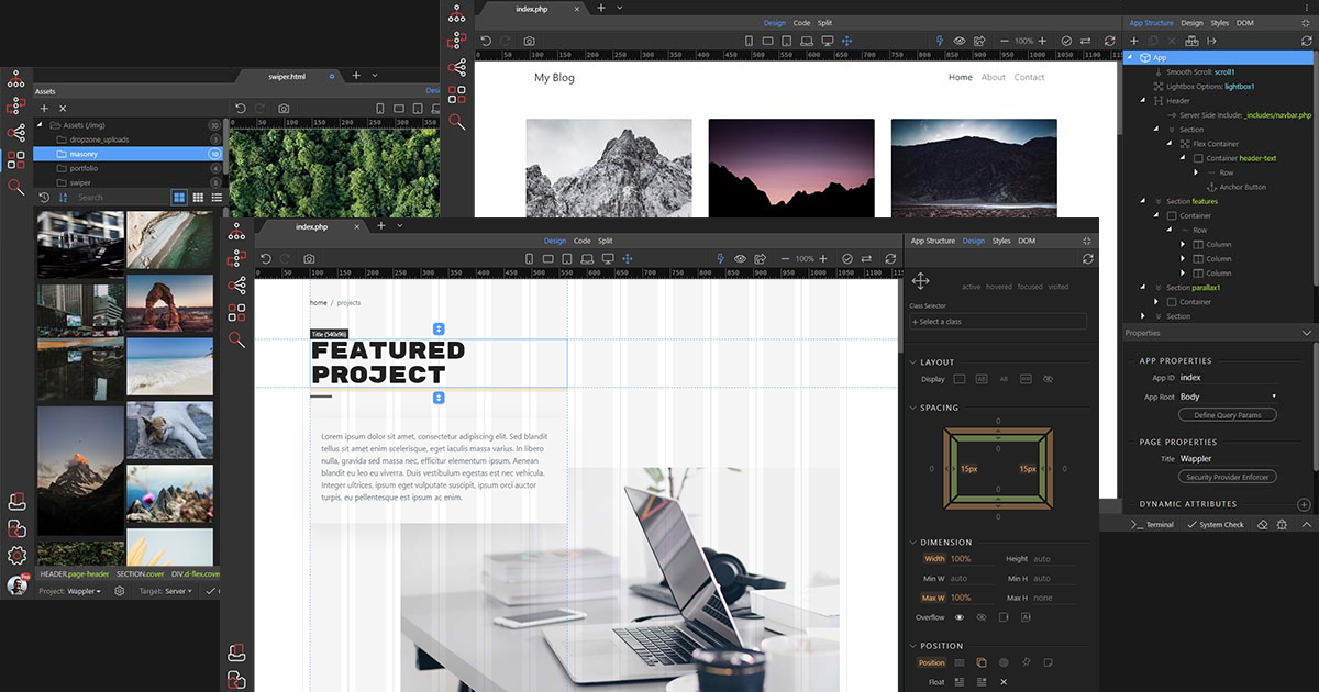 Wappler - The Visual Web App Creator